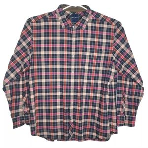 Tommy Bahama XXL Multicolor Pink Flannel Shirt